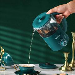 山水(sansui)养生壶迷你家用办公室全自动多功能玻璃蒸煮花茶壶
