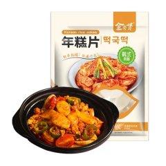 金秀贤年糕片300g韩式风味炒年糕甜辣酱 年糕片 袋装
