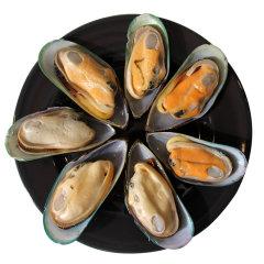 崇鲜 新西兰进口冷冻半壳青口贝900克/盒 鲜活贻贝袋装