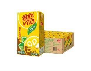 维他经典柠檬茶饮料250ml*24盒/箱  深圳市6箱起包邮 柠檬茶 250ml*24