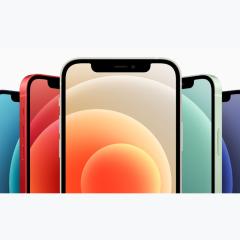 Apple iPhone 12 (A2404)  支持移动联通电信5G 双卡双待手机 黑色 128G